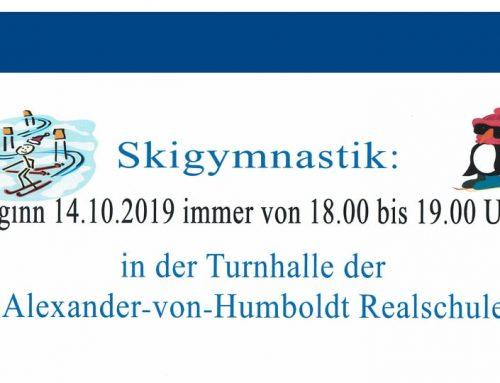 Skigymnastik ab 14.10.2019