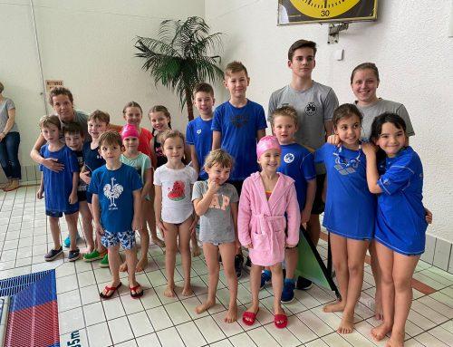 Allererster Wettkampf der Nachwuchs-Schwimmer in Kulmbach