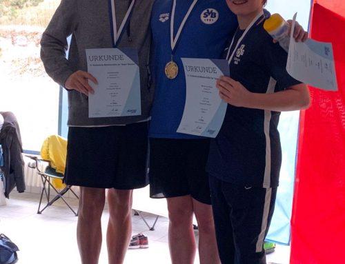 Goldmedaillen und Altersklassenrekorde für Finn-Constantin Kleinheinz bei der Süddeutschen Meisterschaft